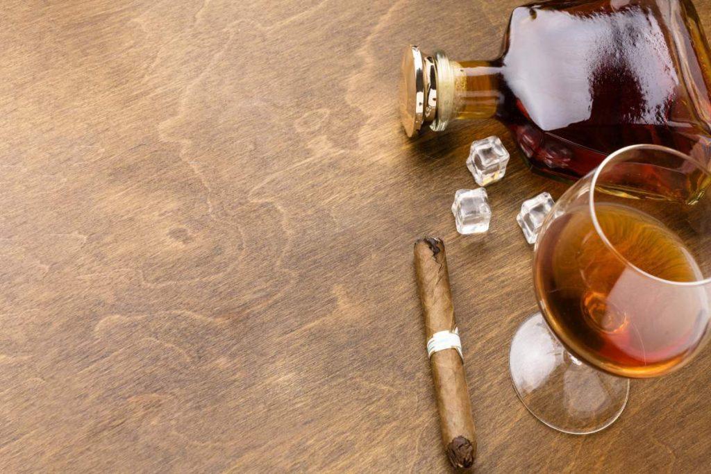 konjak i cigare